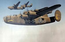 WW2 Picture Photo Jun 1942 Four US B-24 Liberator of the 93rd 1448