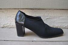 Donald J Pliner  Expresso Mesh Elastic/Kogi Slip On  Shoes Heels -SZ 7.5 Narrow