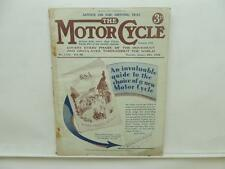 Jan 1934 The Motorcycle Magazine Sunbeam Norton Francis Barnett Cruiser L8680
