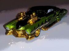 Hot Wheels Halloween '13 CUSTOM Evil Twin Kroger Exclusive REAL RIDERS ADDED