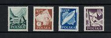 Q088 Poland 1956 tourism skiing camping maps 4v. Mnh