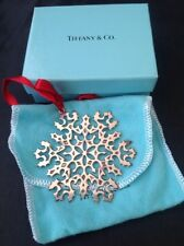 Sterling Silver Tiffany And Co Snowflake Ornament 26.3g