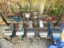 Record Heavy-Duty Bench Vices No's 6/25/112 (Sheffield Steel UK) Global Shipping