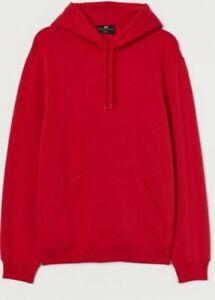 Adult Men's Unisex Basic Plain Hoodie Jumper Pullover Sweater Sweatshirt Small