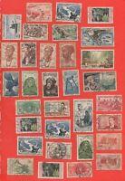 Lote De 32 Sellos Antiguos De'África Occidental Francesa (844)