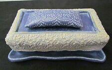Tschudy Butter Dish Jordan River Arts Council Northern Michigan Slab Pottery