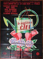 Affiche LE SEPTIEME CIEL Alberto Sordi DANIELLE DARRIEUX Paul Meurisse 120x160cm