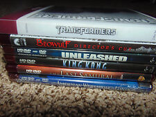 6) HD DVD Beowulf/TRANSFORMERS/LAST SAMURAI/KING KING/UNLEASHED/WEREWOLF LOT