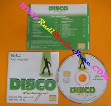 CD DISCO DAYS VOL 4 PROMO compilation 2002 MARVIN GAYE JAMES BROWN (C4*)