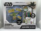 NEW Disney Star Wars MANDALORIAN THE CHILD  Journal Activity Set