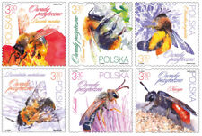 Poland / Polen 2021 - Fi 5142-47** Beneficial insects