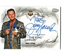 WWE Jerry The King Lawler 2015 Topps Undisputed Authentic On Card Autograph FD30