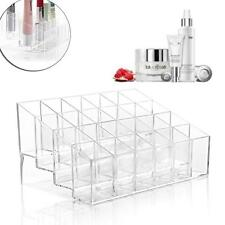 Acrylic 24 Lipstick Holder Organizer Transparent Cosmetic Case Storaging Box  Zp