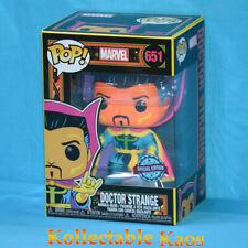 Funko Pop Doctor Strange # 651 Marvel Black Light Vinyl Figure