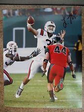 Logan Thomas signed Virginia Tech Vt Hokies 8x10 photo Arizona Cardinals Coa