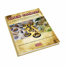 Second Thunder - Open Combat Game System - Hard Back 100 Page Rulebook Rule Book