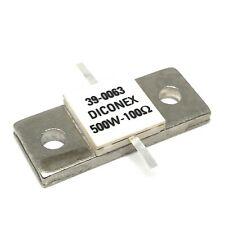500W 100Ohm DC-500MHZ  Stripline Resistor Hybrid  Dummy Load 39-0063 DICONEX
