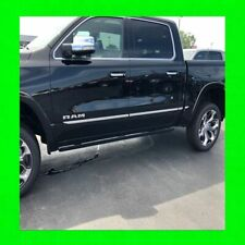 2019 2020 2021 RAM 1500 2500 3500 CHROME SIDE DOOR BODY MOLDING TRIM 19 20 21