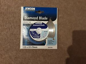 Jewson Ceramic Tile Diamond Blade