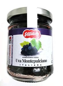 Montepulciano Grape Extra Jam - 220 gr - First Choice Fruit - Offidius