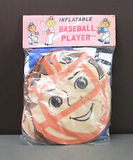 Inflatable Baseball Player - Vintage Toy Collectible