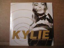 """Kylie Minogue –? qué tengo que hacer SINGLE VINILO 7"""" UK 1991 Dance Pop PWL 72"""