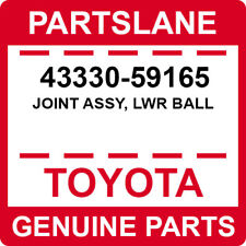 43330-59165 Toyota OEM Genuine JOINT ASSY, LWR BALL