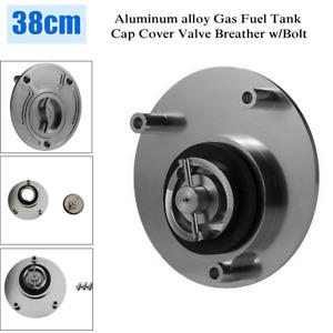 37-39CM Universal CNC Motorcycle Bike ATV Gas Fuel Tank Cap Cover Valve Breather