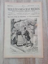 Journal illustré 1909  - Veillées des Chaumières - 10 Juillet - La Jolie Fille..
