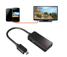 For LG Google Nexus 7 II 4 5 HD 1080P New Slimport MyDP to HDMI 3D Adapter Cable