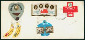 Mayfairstamps Tonga 1977 Die Cut Stamps Combo cover wwo1583