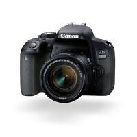 Canon EOS 800D 24.2MP Digital SLR Camera w/ EF-S 18-55mm Lens