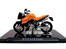 Modellino Moto KTM LC8 Duke in Scala 1:24 con Teca in Plexiglass