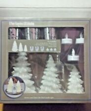 9-Piece Flameless LED Collection - Holiday Christmas Trees