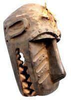 "Arte Africano tribal - Maschera Di "" Mbotumbo "" Scimmia Baule - 36 CMS"