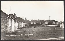 Northamptonshire, GREAT HOUGHTON, New Bungalows - 1960's  Real Photo.
