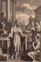 Portrait XVIIIe Jeanne De France Duchesse de Berry Ordre L'Annonciale Louis XI