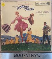 """THE SOUND OF MUSIC Original Soundtrack 12"""" LP Album Vinyl Record 1965 SB-6616 EX"""