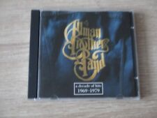 Allma Brothers Band - A Decade Of Hits 1969-1979  CD Album 16 Titel