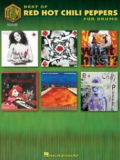 BEST OF RED HOT CHILI PEPPERS FOR DRUMS SONG BOOK