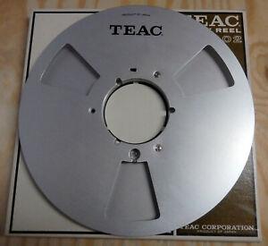 "TEAC RE-1002 10.5"" x 1/4 Inch Metal Aluminum Audio Reel-To-Reel Empty Take-Up"