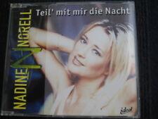 Maxi-CD  NADINE NORELL  Teil' mit mir die Nacht  4 Tracks  Norelle