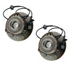 Pair Set of 2 Front Moog Wheel Bearing & Hub Kit for Chevy Tahoe GMC Yukon 4WD