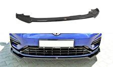 FRONT DIFFUSER VER.2 (GLOSS BLACK) VW GOLF MK7 R FACELIFT (2017 - UP)