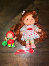 Vintage Strawberry Shortcake with Strawberrykin Berrykin Doll Complete