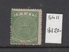FIJI 1871 3d Green mint lightly hinged SG11