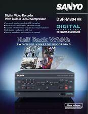 SANYO DSR-M804 DVR Digital Video Recorder 120GB hard drive Totally COOL!
