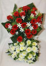 Fiori e piante finte cespugli rosi per la decorazione della casa