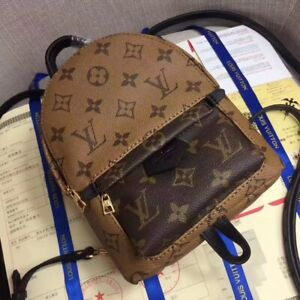 Louis Vuitton Mini Backpack Palm Springs PM Monogram Bag Louis NEVER USED