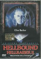1 DVD FILM HORROR-HELLBOUND,HELLRAISER 2 PRIGIONIERI INFERNO-EDIZIONE RESTAURATA